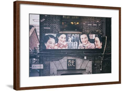 China 10MKm2 Collection - Vintage Chinese Shanghai Girls-Philippe Hugonnard-Framed Art Print