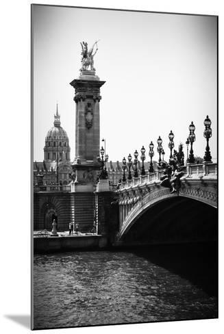Paris Focus - Paris City Bridge-Philippe Hugonnard-Mounted Photographic Print