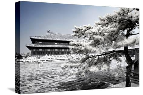 China 10MKm2 Collection - Another Look - Beijing Temple-Philippe Hugonnard-Stretched Canvas Print