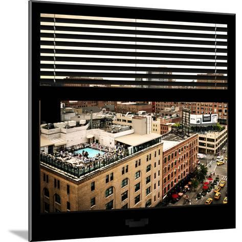 View from the Window - Chelsea Buildings - Manhattan-Philippe Hugonnard-Mounted Photographic Print