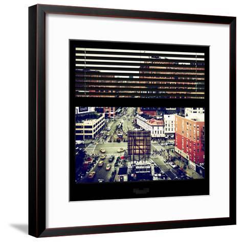View from the Window - Chelsea Buildings - Manhattan-Philippe Hugonnard-Framed Art Print
