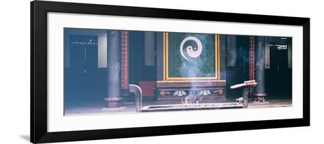 China 10MKm2 Collection - Yin Yang Temple-Philippe Hugonnard-Framed Art Print