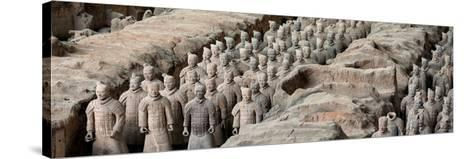 China 10MKm2 Collection - Terracotta Army-Philippe Hugonnard-Stretched Canvas Print