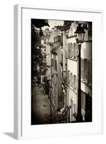 Paris Focus - Paris Montmartre-Philippe Hugonnard-Framed Art Print