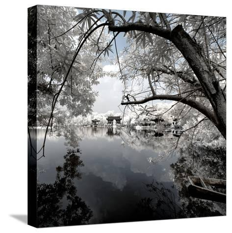 China 10MKm2 Collection - Another Look - View of the Temple-Philippe Hugonnard-Stretched Canvas Print