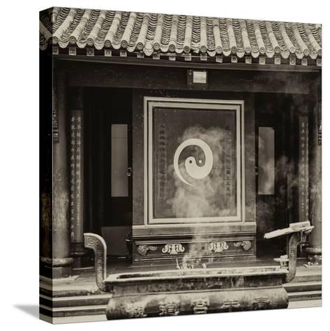 China 10MKm2 Collection - Yin Yang Temple-Philippe Hugonnard-Stretched Canvas Print