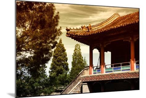 China 10MKm2 Collection - Architectural Temple-Philippe Hugonnard-Mounted Photographic Print