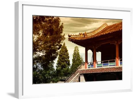 China 10MKm2 Collection - Architectural Temple-Philippe Hugonnard-Framed Art Print