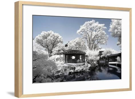 China 10MKm2 Collection - Another Look - Park Temple-Philippe Hugonnard-Framed Art Print