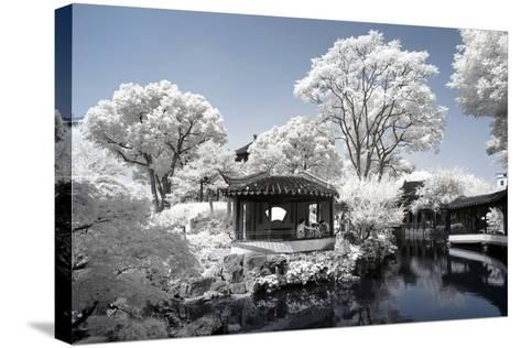 China 10MKm2 Collection - Another Look - Park Temple-Philippe Hugonnard-Stretched Canvas Print
