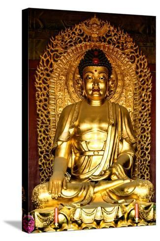 China 10MKm2 Collection - Buddha-Philippe Hugonnard-Stretched Canvas Print
