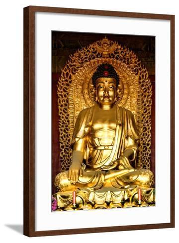 China 10MKm2 Collection - Buddha-Philippe Hugonnard-Framed Art Print