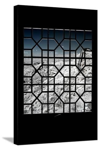 China 10MKm2 Collection - Asian Window - Another Look Series - Great Wall of China-Philippe Hugonnard-Stretched Canvas Print