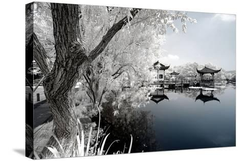 China 10MKm2 Collection - Another Look - Reflection of Temples-Philippe Hugonnard-Stretched Canvas Print