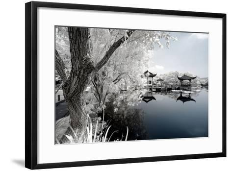 China 10MKm2 Collection - Another Look - Reflection of Temples-Philippe Hugonnard-Framed Art Print