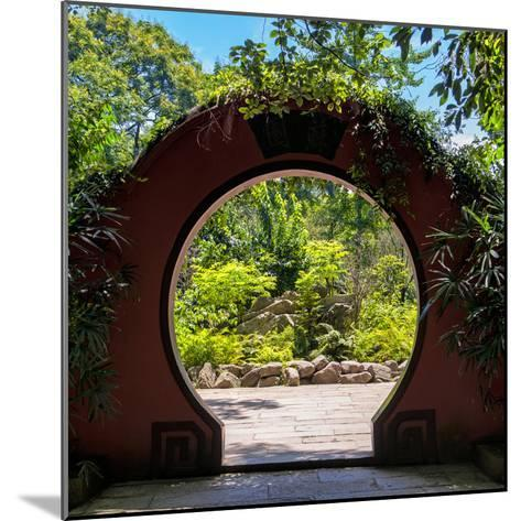 China 10MKm2 Collection - Chinese Arch Garden-Philippe Hugonnard-Mounted Photographic Print