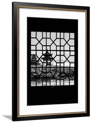 China 10MKm2 Collection - Asian Window - West Lake-Philippe Hugonnard-Framed Art Print