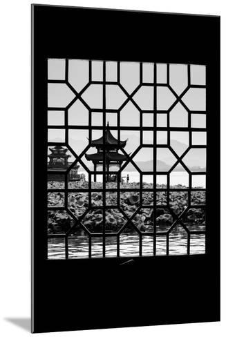 China 10MKm2 Collection - Asian Window - West Lake-Philippe Hugonnard-Mounted Photographic Print