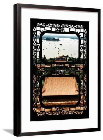 China 10MKm2 Collection - Asian Window - Summer Palace Beijing-Philippe Hugonnard-Framed Art Print