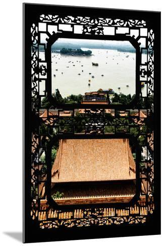 China 10MKm2 Collection - Asian Window - Summer Palace Beijing-Philippe Hugonnard-Mounted Photographic Print