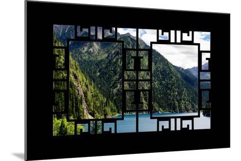 China 10MKm2 Collection - Asian Window - Beautiful Lake in the Jiuzhaigou National Park-Philippe Hugonnard-Mounted Photographic Print