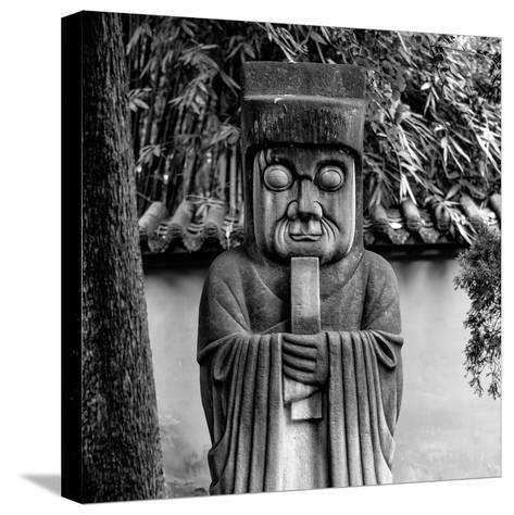 China 10MKm2 Collection - Chinese ancient Statue-Philippe Hugonnard-Stretched Canvas Print