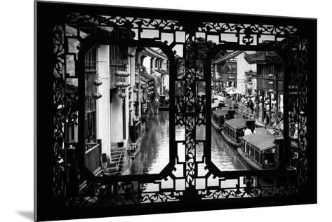China 10MKm2 Collection - Asian Window - Shantang water Town - Suzhou-Philippe Hugonnard-Mounted Photographic Print