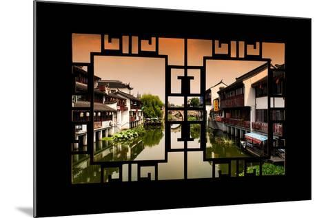 China 10MKm2 Collection - Asian Window - Chinese Water Town-Philippe Hugonnard-Mounted Photographic Print