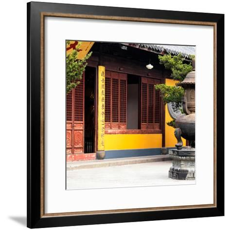 China 10MKm2 Collection - Buddhist Temple-Philippe Hugonnard-Framed Art Print