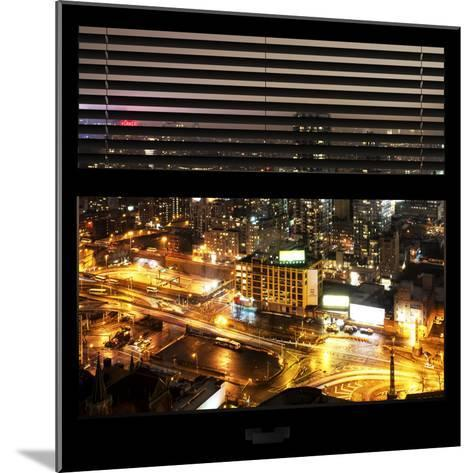 View from the Window - Downtown Manhattan-Philippe Hugonnard-Mounted Photographic Print