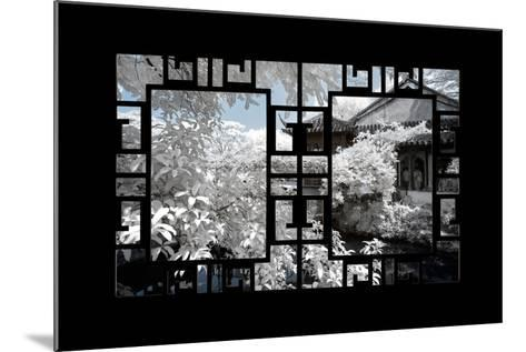China 10MKm2 Collection - Asian Window - Another Look Series - White House-Philippe Hugonnard-Mounted Photographic Print
