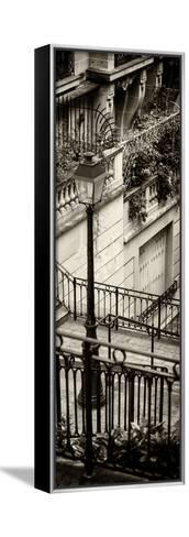 Paris Focus - Stairs of Montmartre-Philippe Hugonnard-Framed Canvas Print