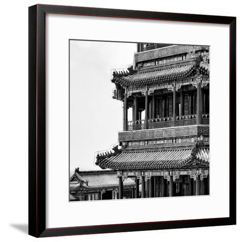 China 10MKm2 Collection - Detail of Summer Palace-Philippe Hugonnard-Framed Art Print