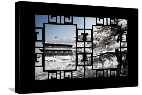 China 10MKm2 Collection - Asian Window - Another Look Series - Forbidden City-Philippe Hugonnard-Stretched Canvas Print