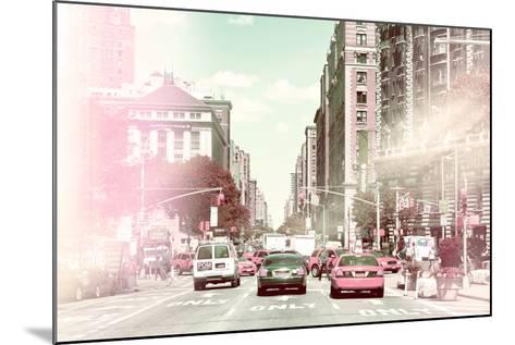 Pastel Series - New York City-Philippe Hugonnard-Mounted Photographic Print