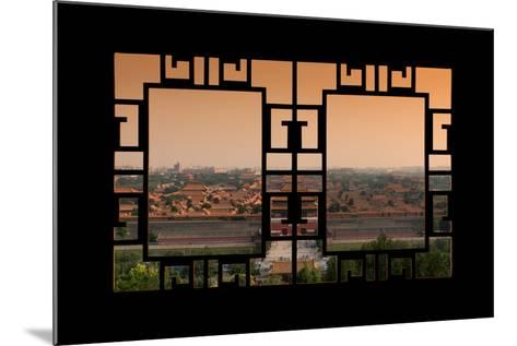 China 10MKm2 Collection - Asian Window - Forbidden City at Sunset - Beijing-Philippe Hugonnard-Mounted Photographic Print