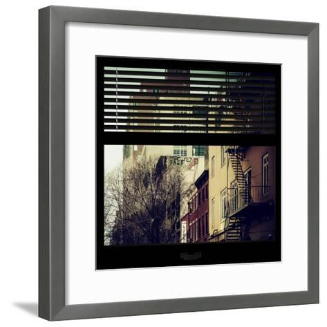 View from the Window - New York Winter-Philippe Hugonnard-Framed Art Print