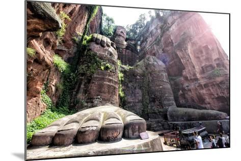 China 10MKm2 Collection - Giant Buddha of Leshan-Philippe Hugonnard-Mounted Photographic Print