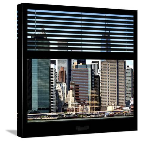 View from the Window - NYC Architecture-Philippe Hugonnard-Stretched Canvas Print