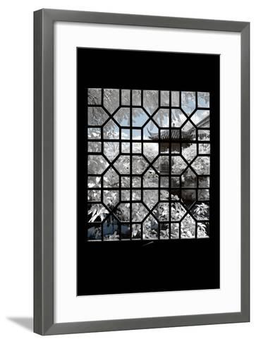 China 10MKm2 Collection - Asian Window - Another Look Series - White House-Philippe Hugonnard-Framed Art Print