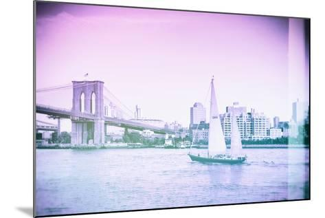 Pastel Series - New York City-Philippe Hugonnard-Mounted Photographic Print