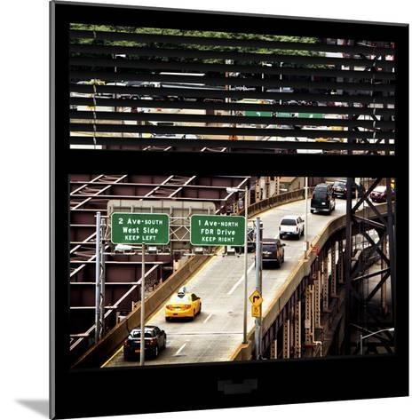 View from the Window - New York Traffic-Philippe Hugonnard-Mounted Photographic Print