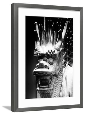 China 10MKm2 Collection - Detail of Dragon-Philippe Hugonnard-Framed Art Print