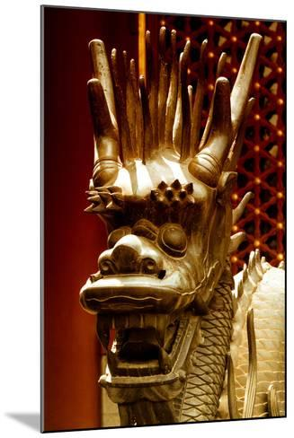 China 10MKm2 Collection - Detail of Dragon-Philippe Hugonnard-Mounted Photographic Print