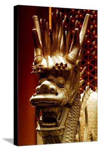 China 10MKm2 Collection - Detail of Dragon-Philippe Hugonnard-Stretched Canvas Print