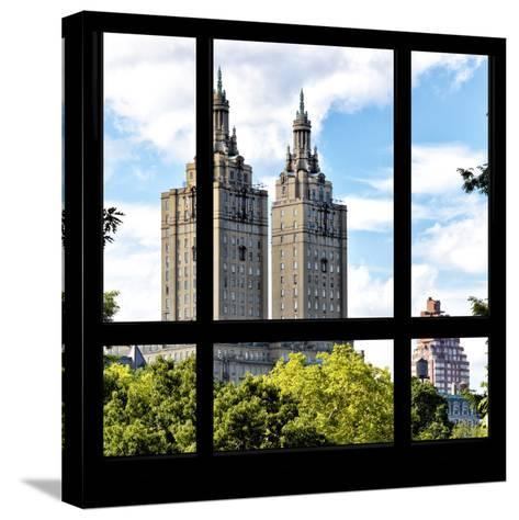 View from the Window - San Remo Building - Central Park-Philippe Hugonnard-Stretched Canvas Print