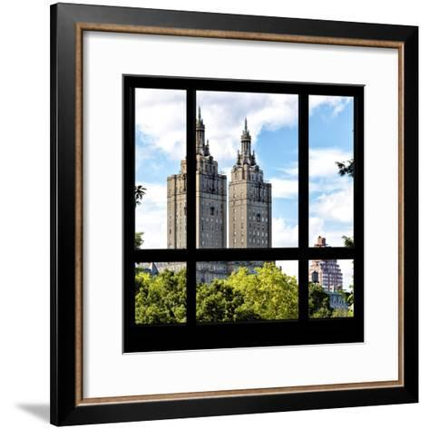 View from the Window - San Remo Building - Central Park-Philippe Hugonnard-Framed Art Print