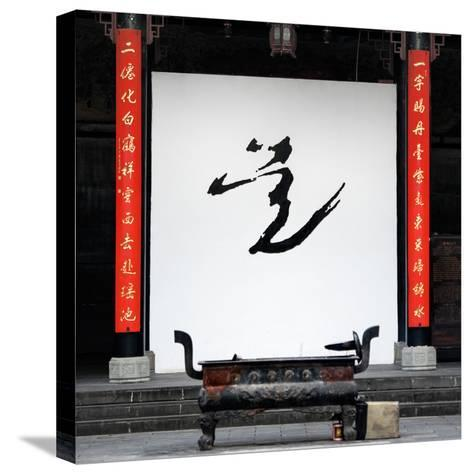 China 10MKm2 Collection - Chinese Temple-Philippe Hugonnard-Stretched Canvas Print
