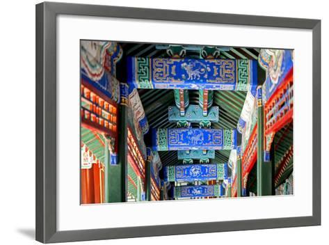 China 10MKm2 Collection - Detail of Imperial Summer Palace-Philippe Hugonnard-Framed Art Print