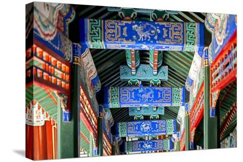 China 10MKm2 Collection - Detail of Imperial Summer Palace-Philippe Hugonnard-Stretched Canvas Print
